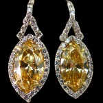 Amber Colored Diamonds