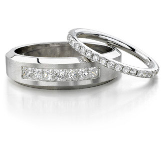diamond wedding bands - Wedding Band Rings