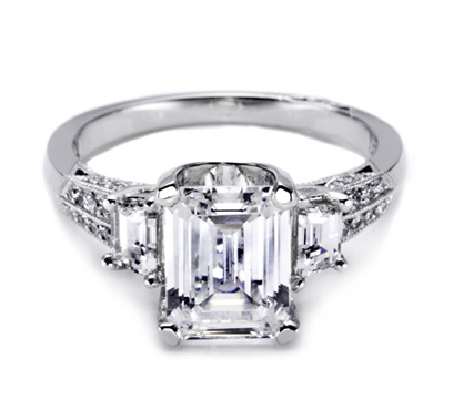 of the most romantic diamond ring styles this style of diamond ring