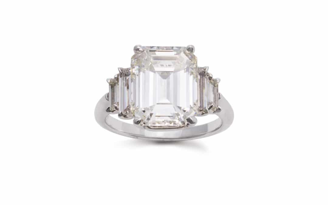 Emerald Cut Diamond Rings, Exquisite Beauty