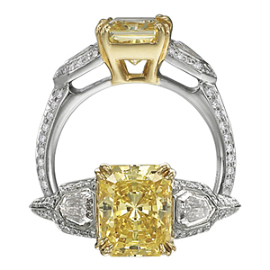 How To Save Big on Yellow Diamond Engagement Rings