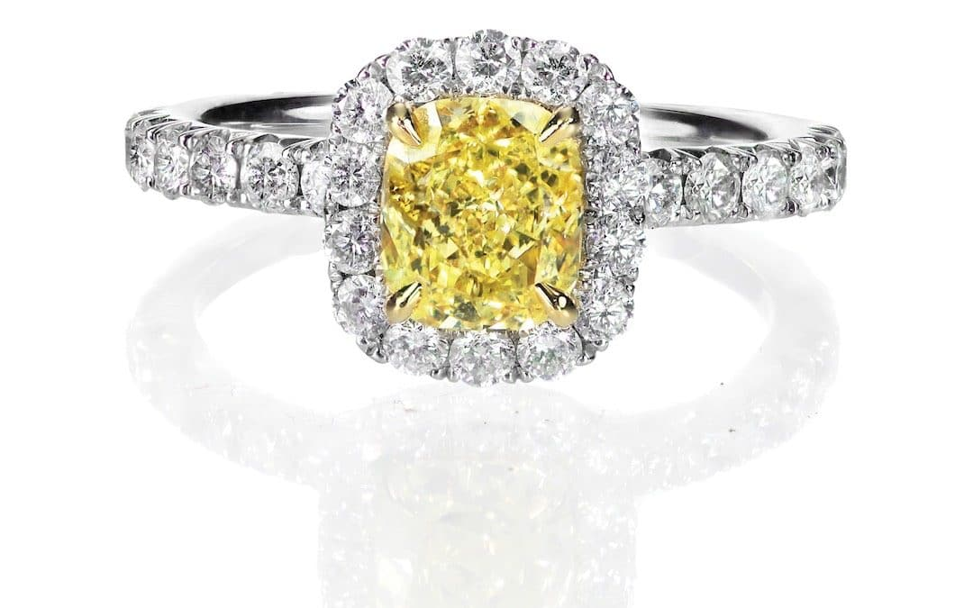 Yellow Diamond Engagement Rings: It's All About Color!