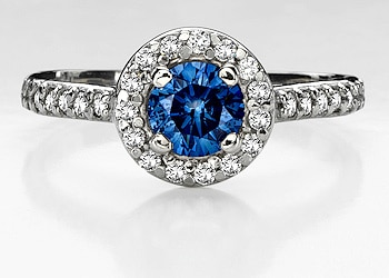 Fancy Blue Diamonds Something to Splurge On