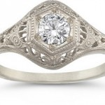 Victorian Style Diamond Ring