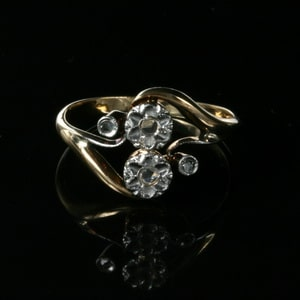 Art Nouveau Style Diamond Ring