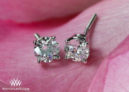 Hottest Gift of the Season: Diamond Stud Earrings
