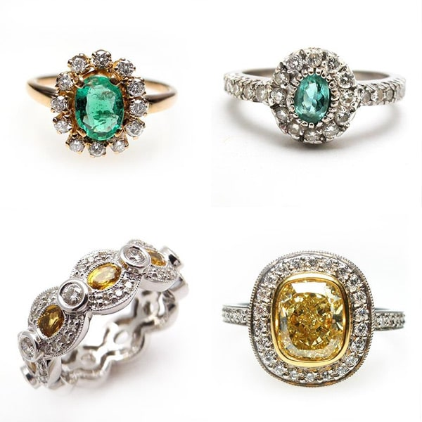 Retro Antique Engagement Rings