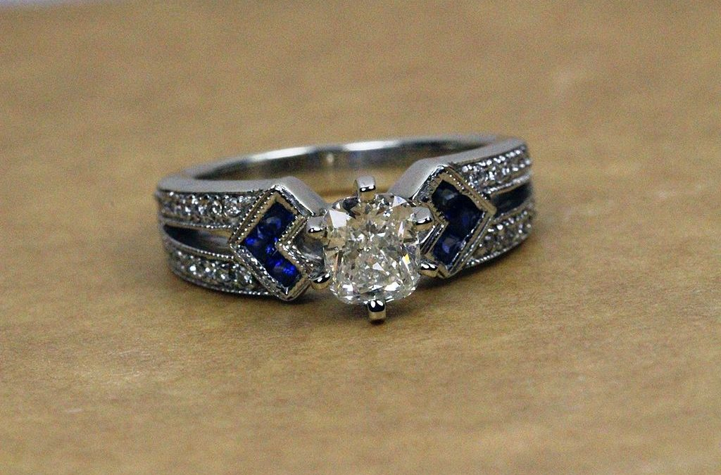 Modern Antique Engagement Rings