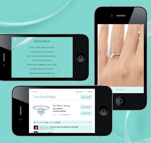 a6fe4bf4159 Tiffany & Co. Engagement Ring Finder