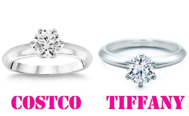 tiffany vs the tiffany costco diamond rings. Black Bedroom Furniture Sets. Home Design Ideas