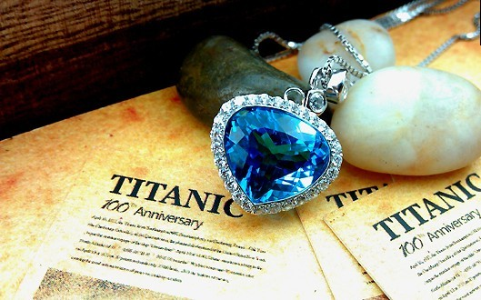 The Mysterious Heart of the Ocean Necklace