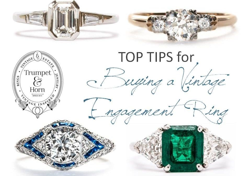 What are the Pro's and Con's of Vintage Engagement Rings?