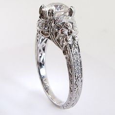 antique ring style guide - victorian style engagement ring