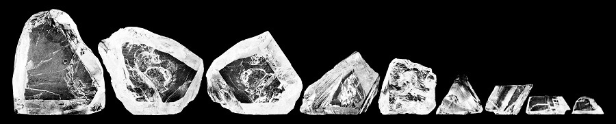 Cullinan Rough Pieces cullinan diamond