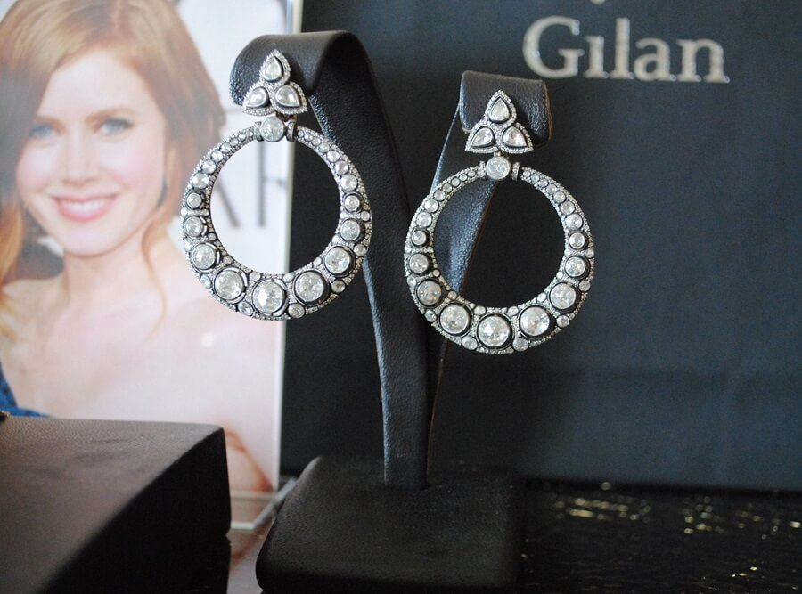 Diamond Hoop Earring diamond hoop earrings