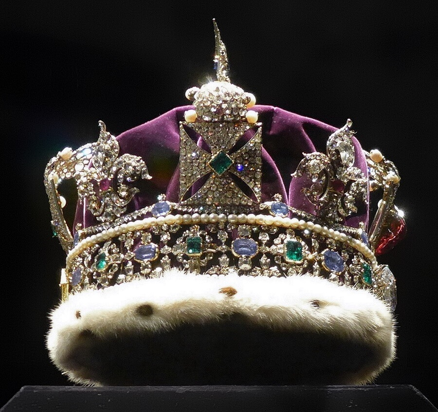 Imperial State Crown cullinan diamond