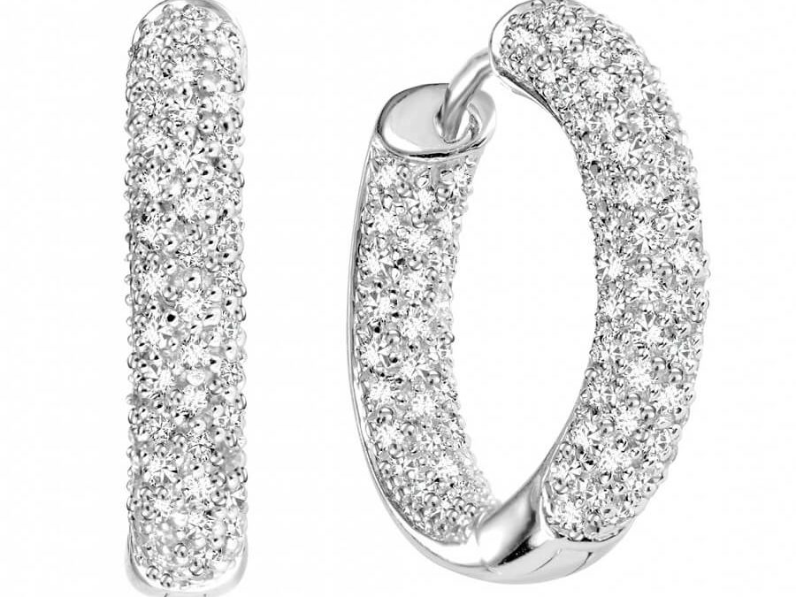 Diamond Hoop Earrings – A Jump from Street to Glamour
