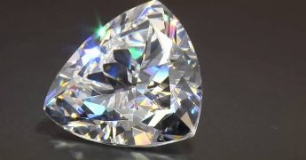 Sparkling Trillion Cut Diamond