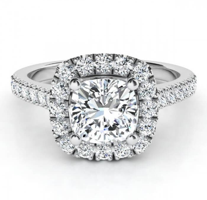 Cushion Cut Diamond Pictures