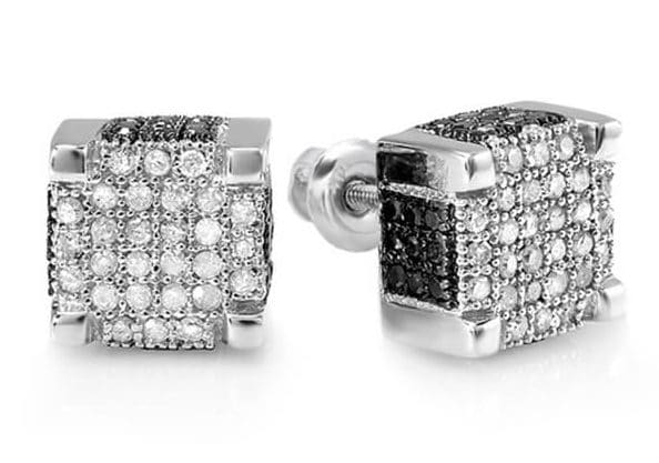 8 Trendy Diamond Stud Earrings for Men