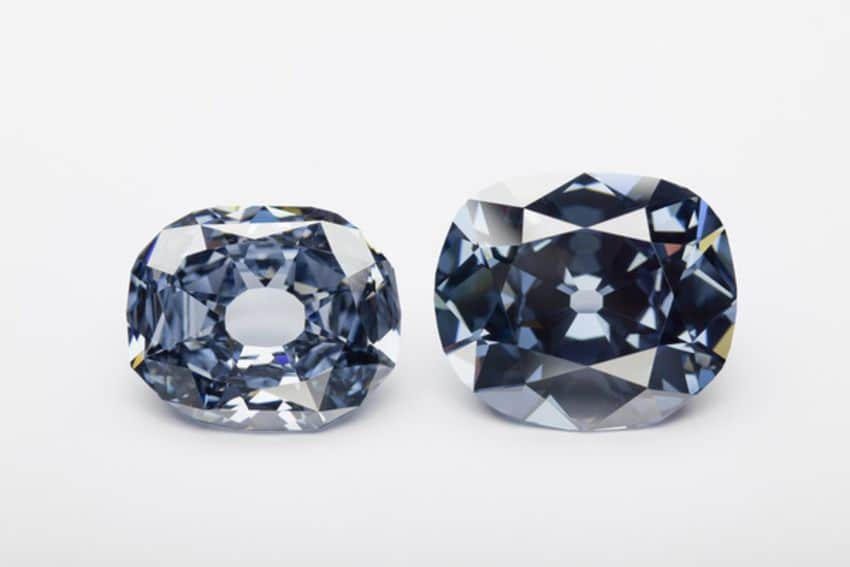 Hope and Wittelsbach-Graff diamonds