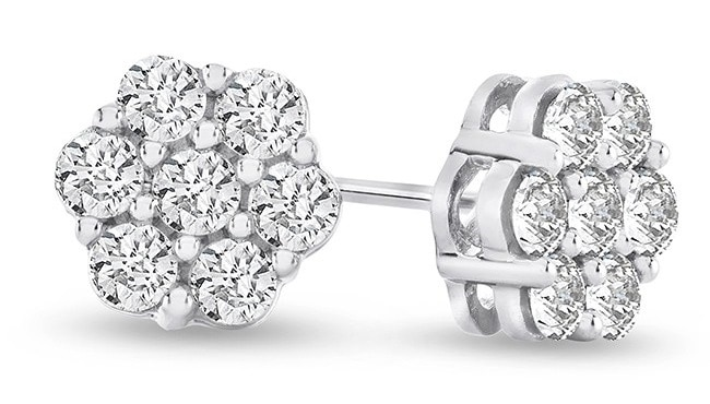 simulated diamond earrings that show that what is a simulated diamond is something very similar to real diamonds