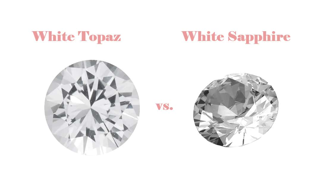 White Topaz vs White Sapphire differences in features
