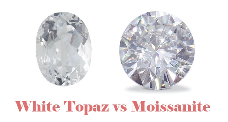 White Topaz vs Moissanite – Which Makes a Better Fake Diamond?