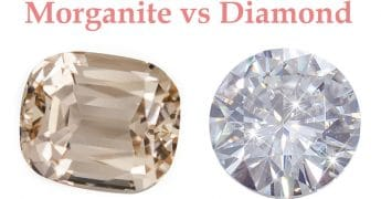Morganite vs Diamond