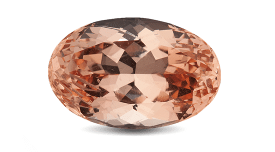 Natural Oval Brilliant Cut Morganite Loose Gemstones