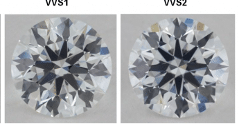 VVS1 and VVS2 diamonds
