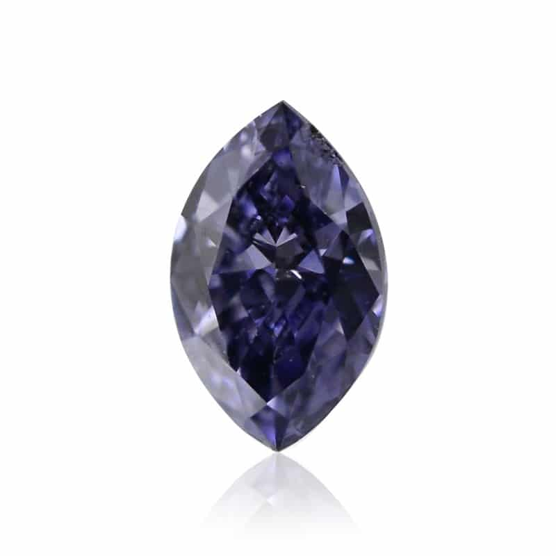 Fancy Dark Gray Blue Diamond
