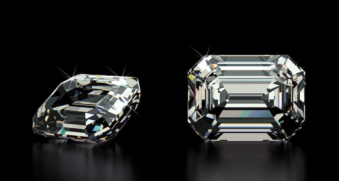 Emerald Cut Diamond vs Asscher cut