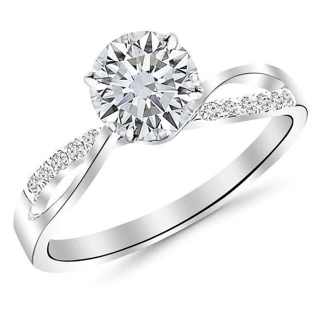 10 Popular Round Diamond Ring Designs: Features And Price