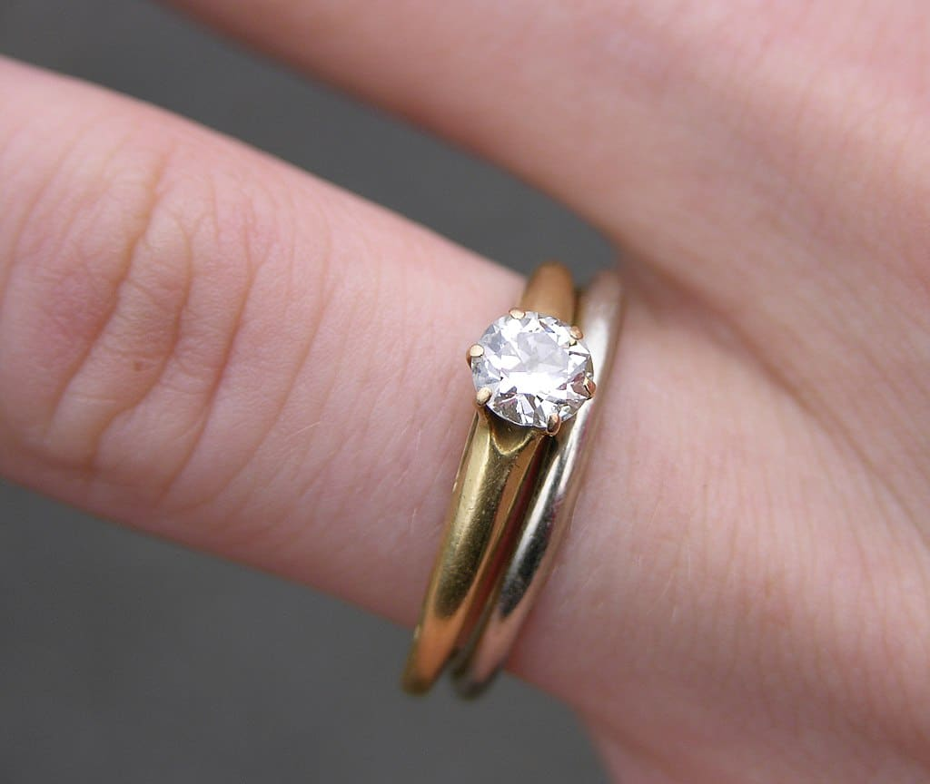 six prong setting engagement ring