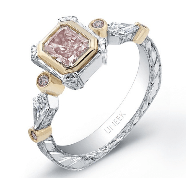 Radiant Cut Pink Diamond